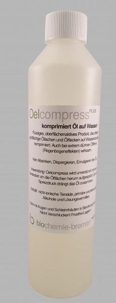 OelcompressPLUS - 0.5 Liter Flasche